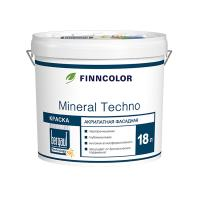 Краска фасадная FINNCOLOR MINERAL TECHNO MRA, База А, 18л